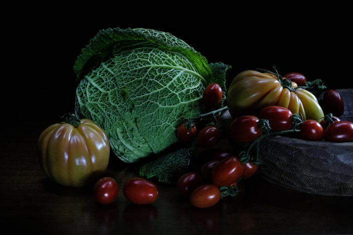 Matteo Marioli Foodphotography Brescia Verza e pomodori