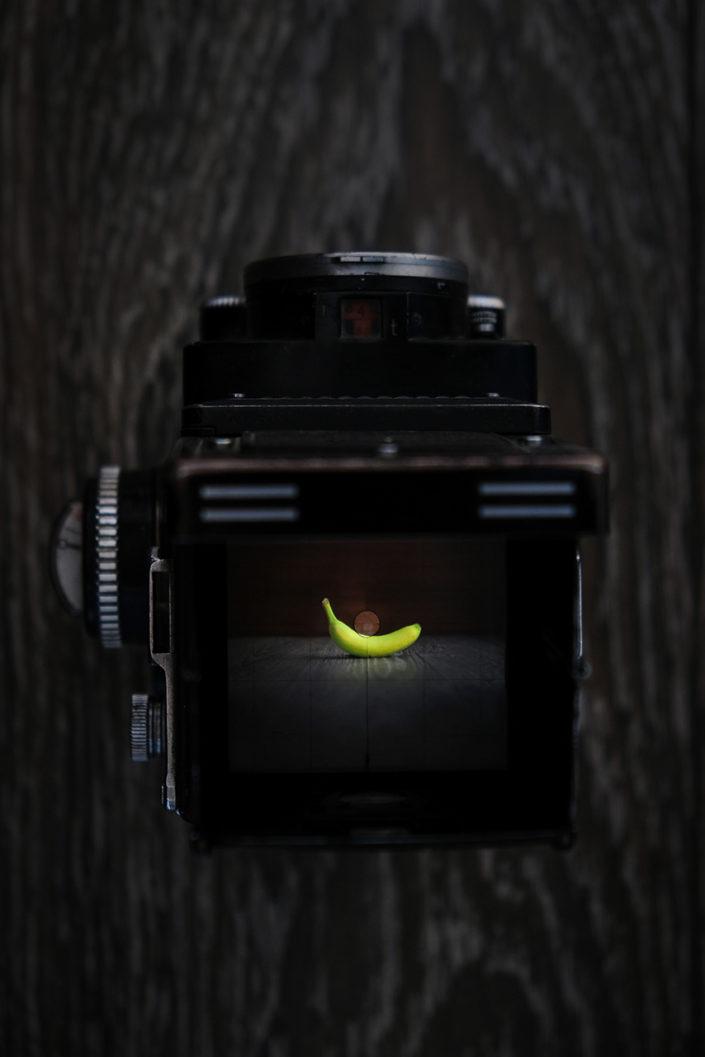 Matteo Marioli Foodphotography Brescia Banana+Rolleiflex